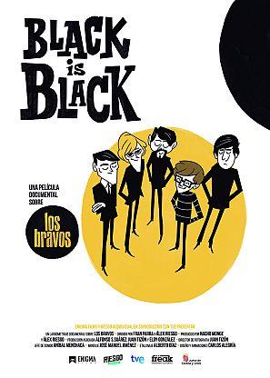 BLACK IS BLACK es un documental sobre el éxito y el fracaso, es la historia de Los Bravos y es la historia de la España de los años 60