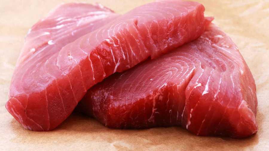 Lomos de atún rojo, una de las partes más solicitadas de este pescado