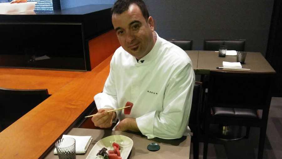 El chef Víctor Serrano, en Kabuki