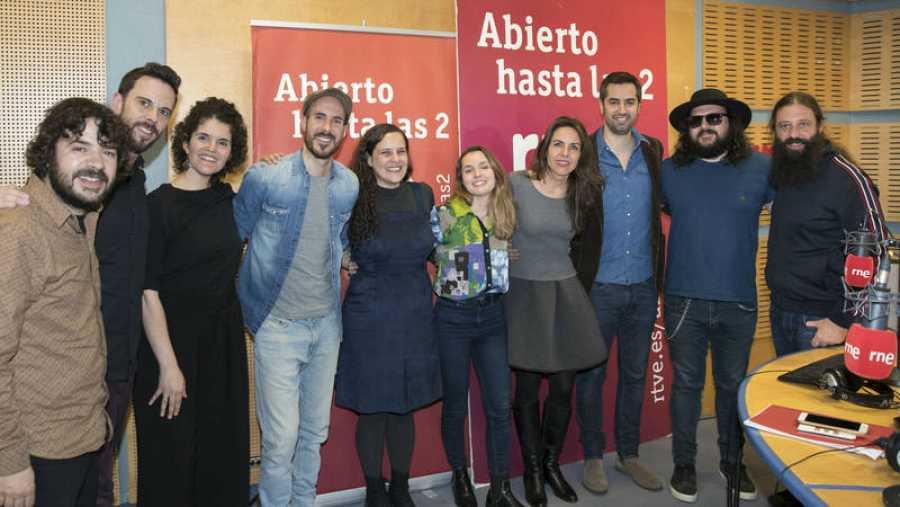 Iturrieta, con toda su banda, Paloma Arranz y su equipo