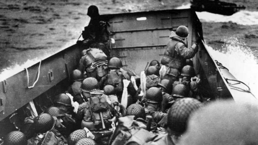 Soldados en la Segunda Guerra Mundial