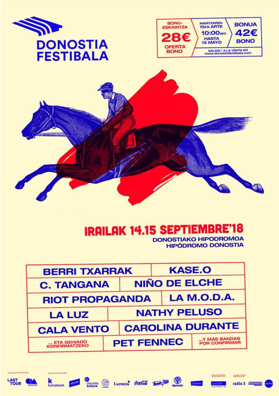 Cartel del Donostia Festibala