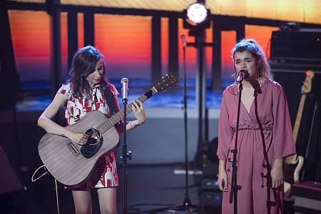 Zahara canta junto a Amaia 'Con las ganas'