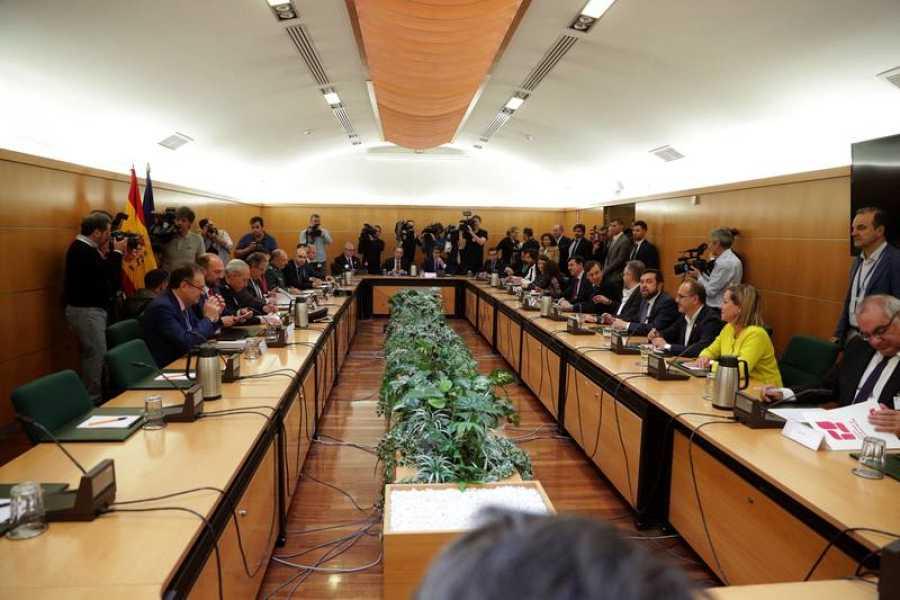 Reunión de los partidos firmantes y observadores del pacto antiterrorista