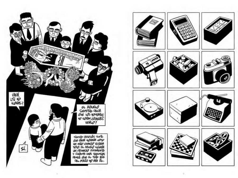 Páginas de 'Una caja de galletas'