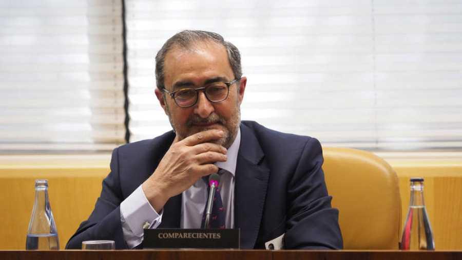 El director de Ingeniería, Mantenimiento e I+D de Material Móvil e Instalaciones de Metro en el año 2003, Francisco Javier González comparece en la Asamblea de Madrid