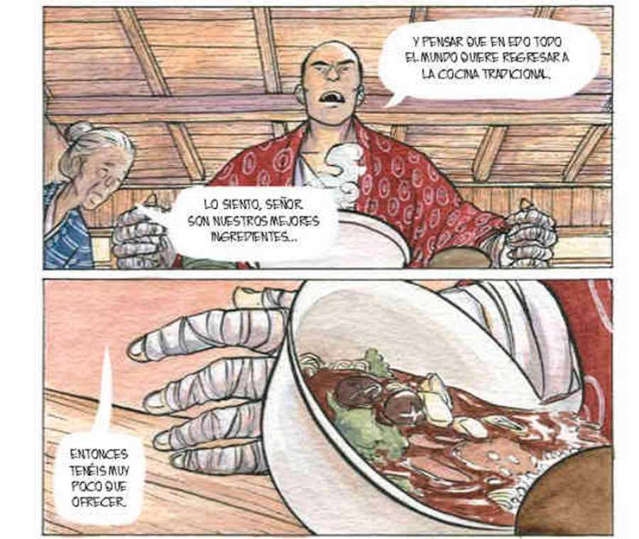 Viñetas de 'La hierba del estío'