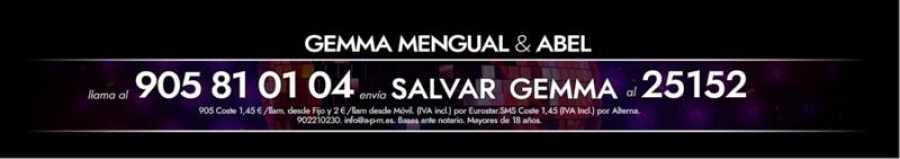 ¡Vota para salvar a Gemma Mengual!