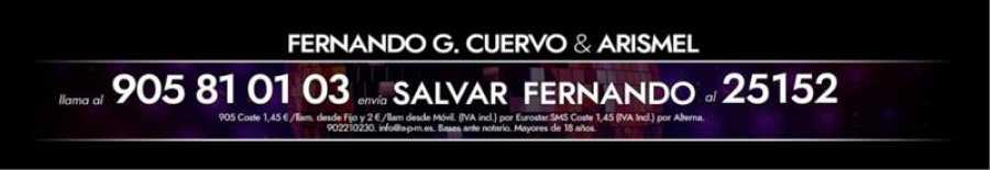 ¡Vota para salvar a Fernando Guillén Cuervo!