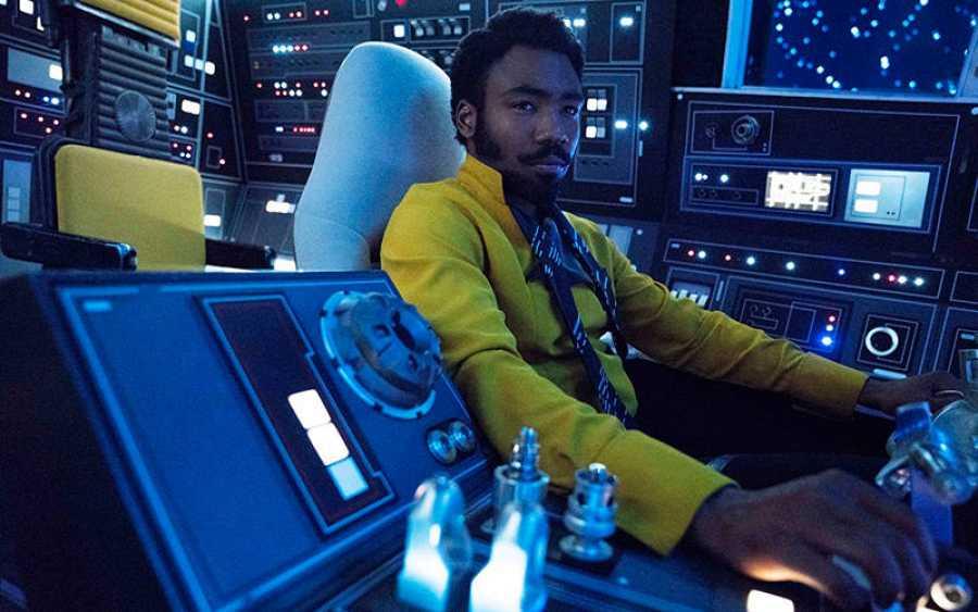 Donald Glover está perfecto como el joven Lando Calrissian