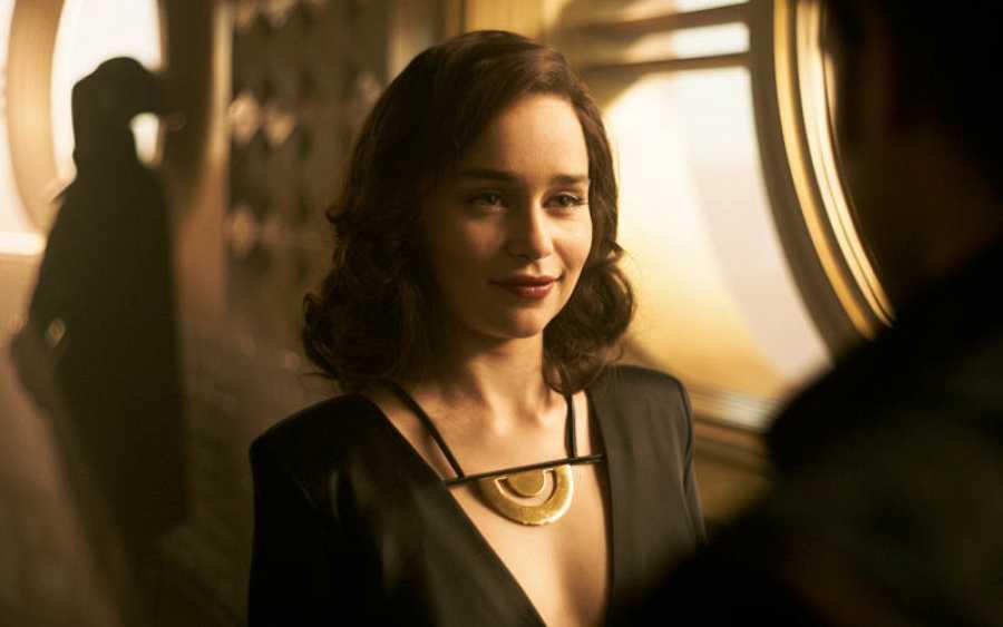 Emilia Clarke es Qi'Ra, el primer amor de Han solo