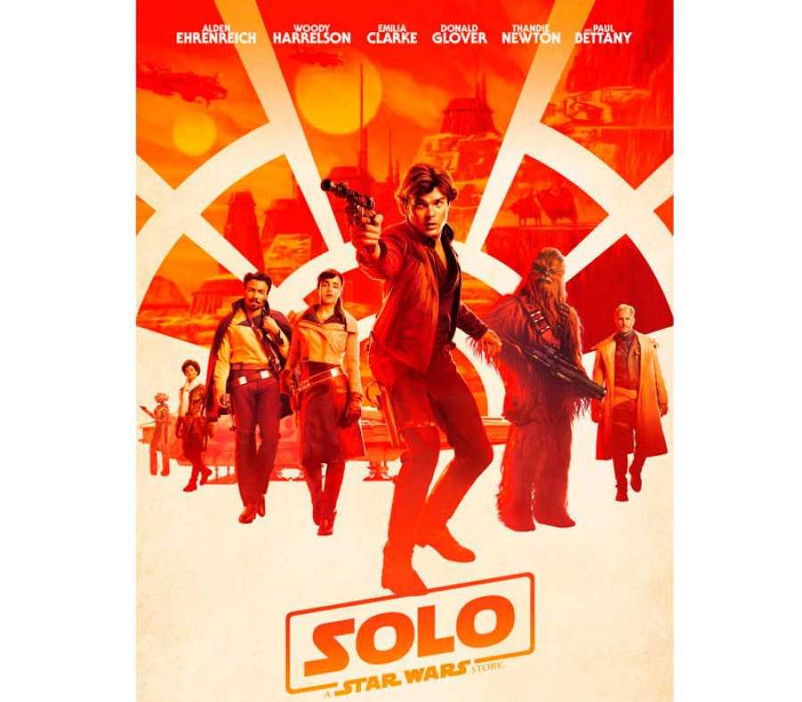 Cartel de 'Han solo: Una historia de Star Wars'