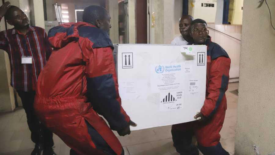 Llegan las primeras vacunas contra el ébola a Kinshasa