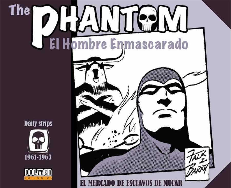 Portada de 'The Phantom 1961-1963'