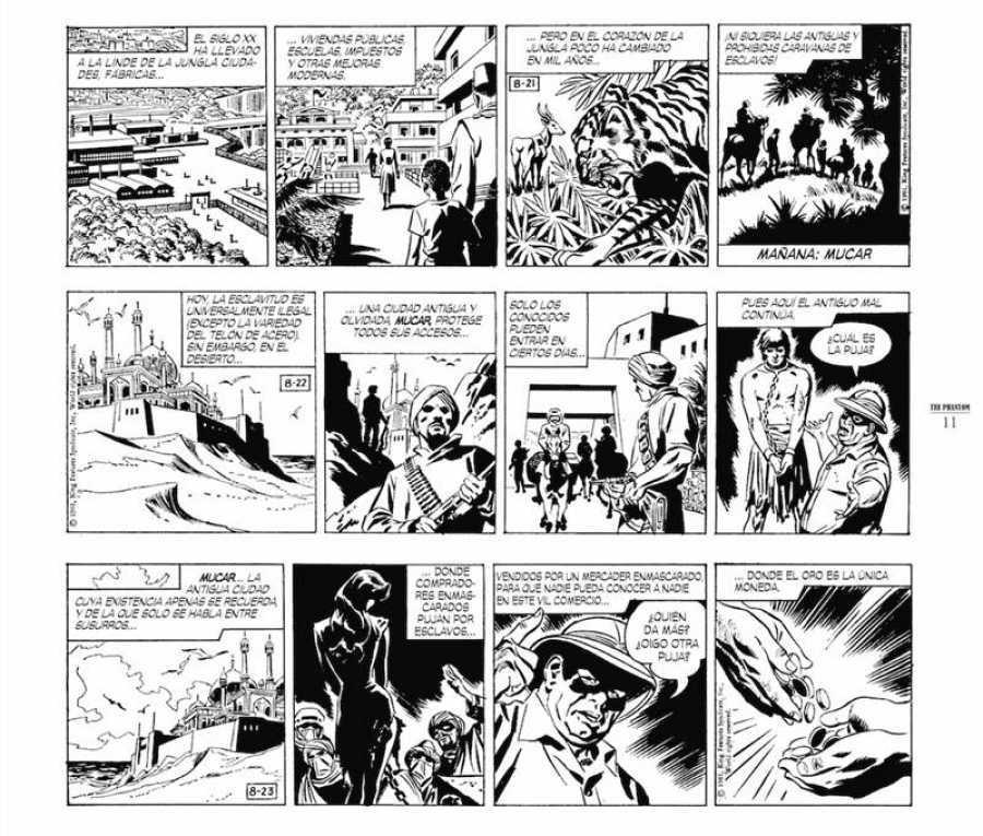 Página de 'The Phantom 1961-1963'