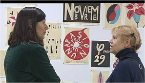 María Blasco conversa con Eva Lootz