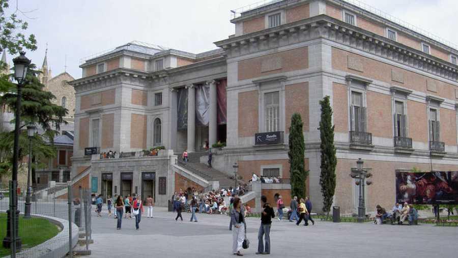 Exterior del Museo del Prado en Madrid