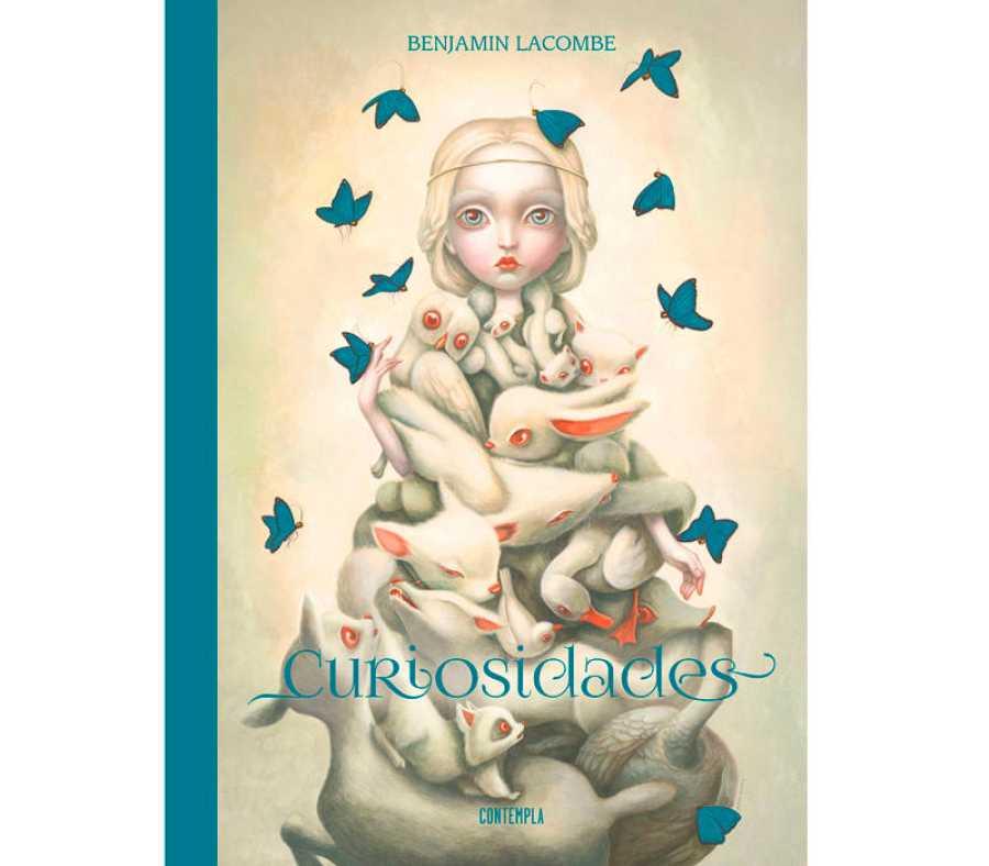 Portada de 'Curiosidades', de Benjamin Lacombe