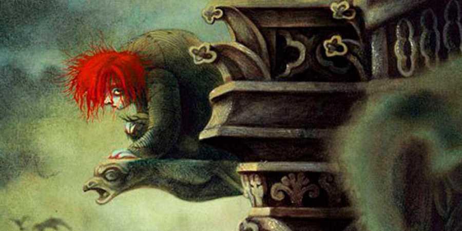Ilustración de 'Nuestra señora de París'