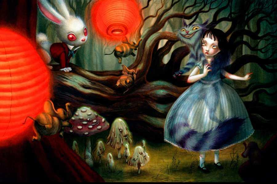 Ilustración de 'Alicia en el País de las Maravillas'