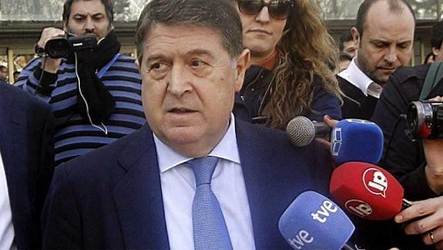El expresidente de Bancaja, del Banco de Valencia y exvicepresidente de Bankia José Luis Olivas , en una imagen de 2014.