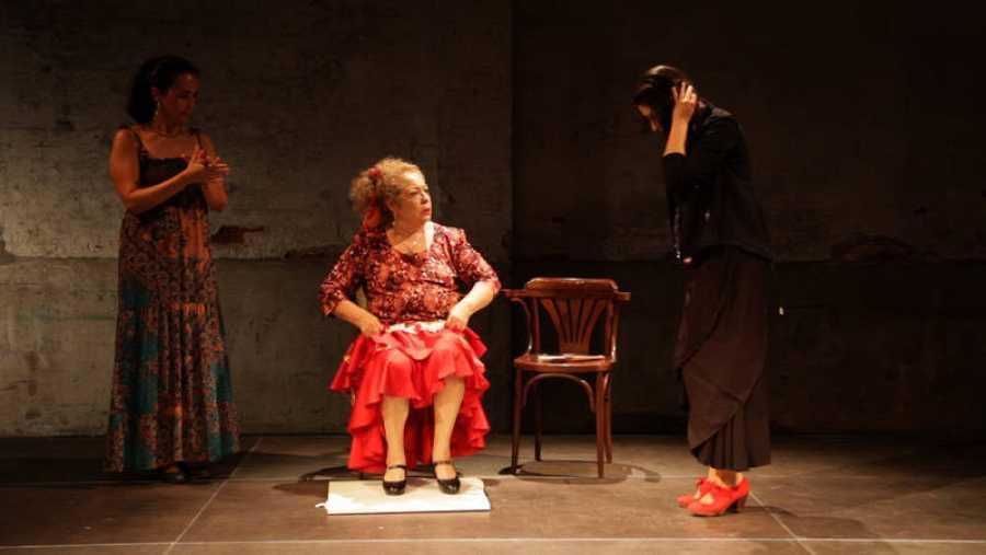 Una escena del documental sobre La Chana