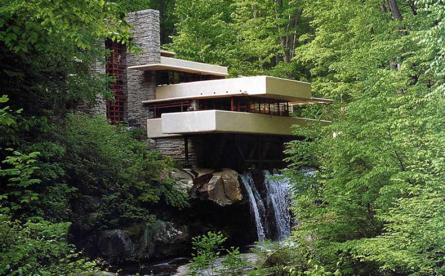La Casa de la Cascada, obra de F.L Wright