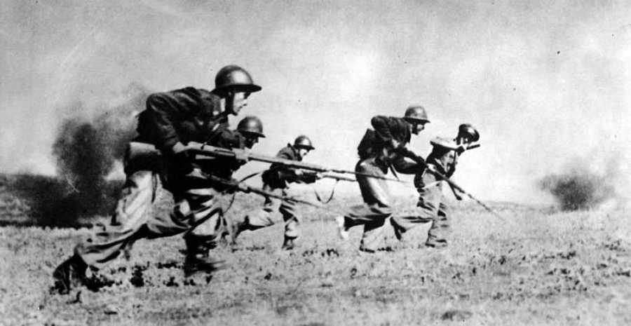 Combatientes en la Guerra Civil Española