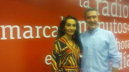 Gema Alfaro y Arturo Martín