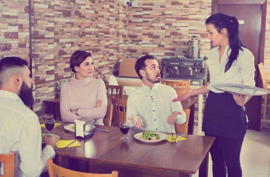 Ante la duda por posible contaminación, hay que preguntar en el restaurante