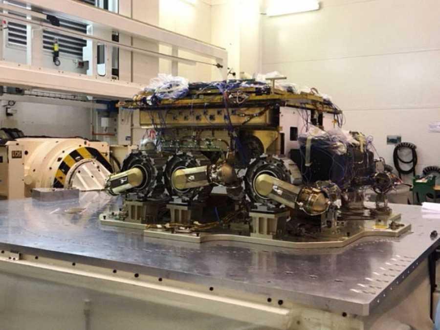 La réplica se encuentra en las instalaciones de Airbus en Toulouse (Francia). ESA