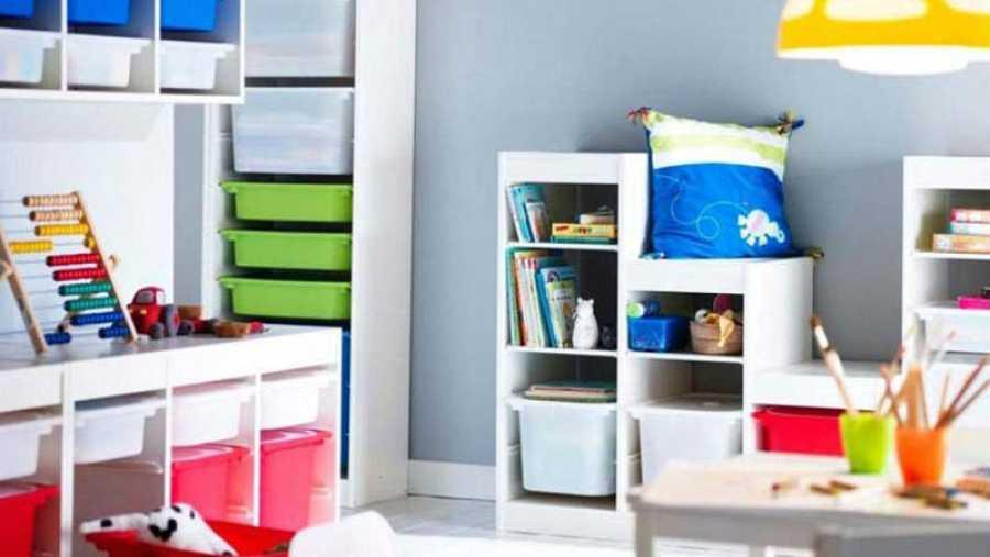 Organización de una habitación infantil