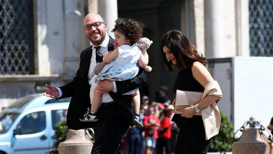 El ministro de Familia y Discapacidad italiano, Lorenzo Fontana