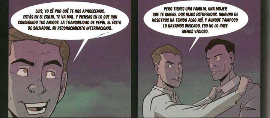 Viñetas de 'La noche perdida de Luis Buñuel'