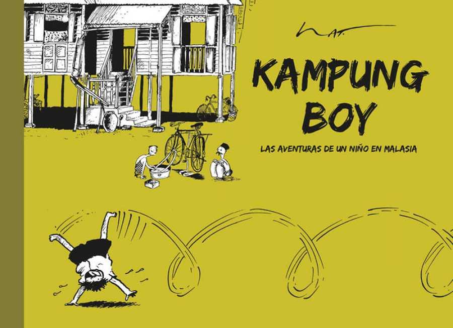 Portada de 'Kampung Boy'
