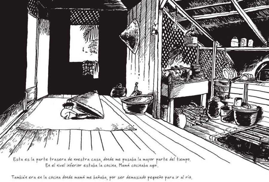 Página de 'Kampung Boy'