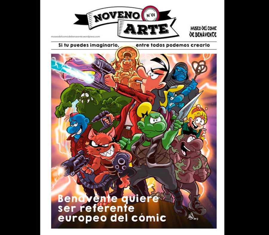 Revista promocional del Museo del Cómic de Benavente