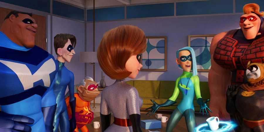 Algunos de los nuevos superhéroes que conoceremos en 'Los Increíbles 2'