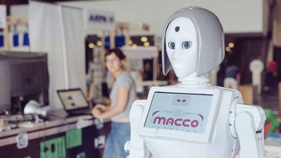 Uno de los proyectos de Macco Robotics