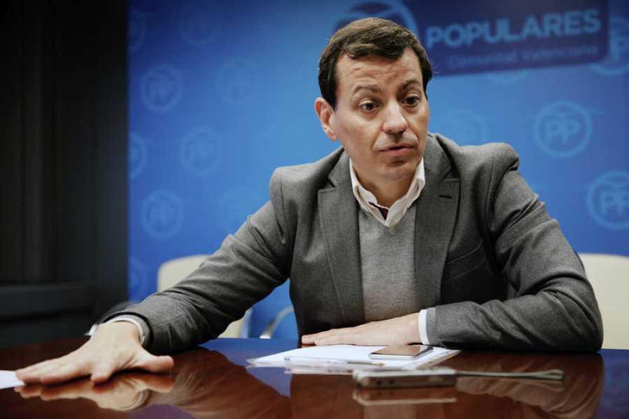 José Luis Bayo, candidato a presidir el PP