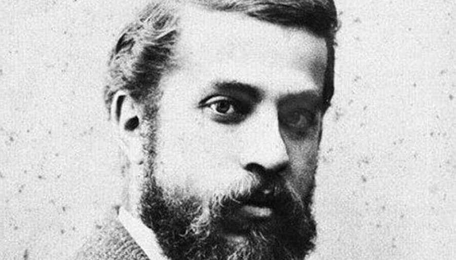Retrato de Gaudí