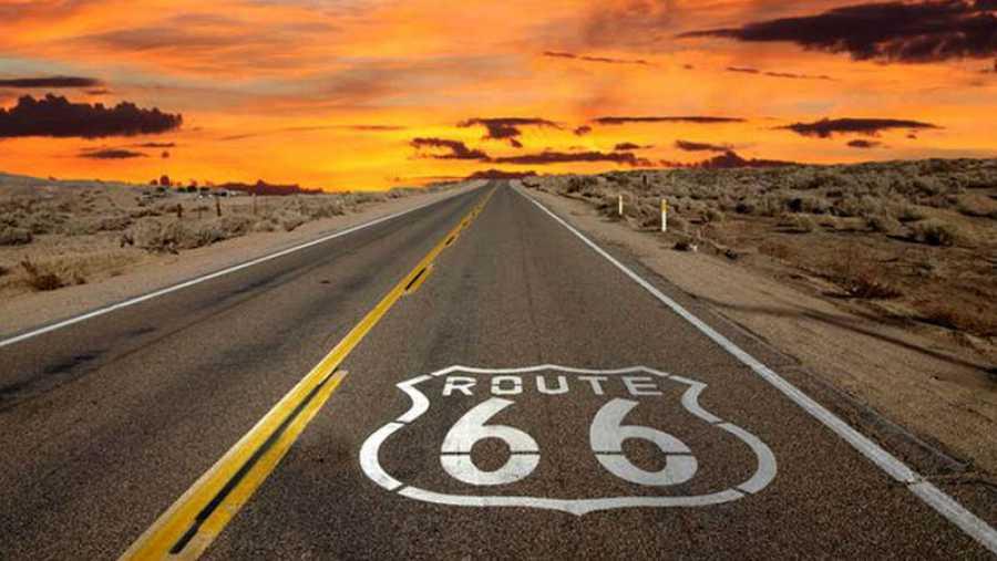 La Ruta 66 fue la primera carretera asfaltada de Estados Unidos