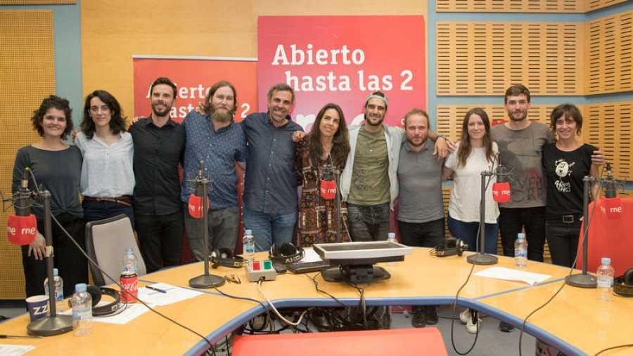 Imagen final del programa, con Morgan y todo el equipo