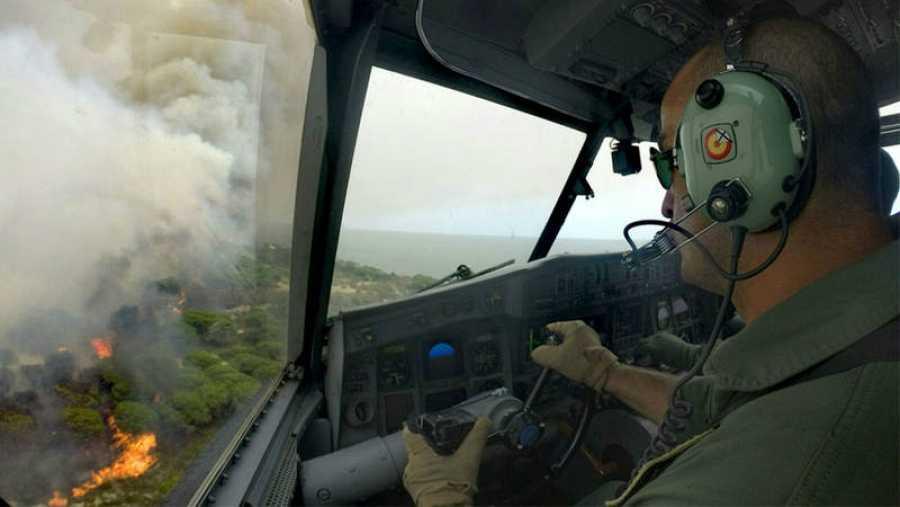 Apagafuegos del Ejército del Aire