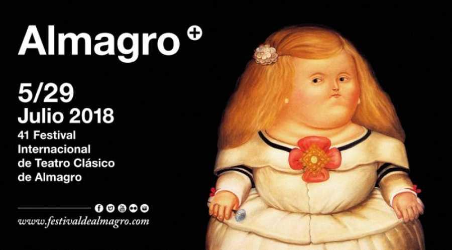 Cartel del Fetival Internacional de Teatro Clásico de Almagro