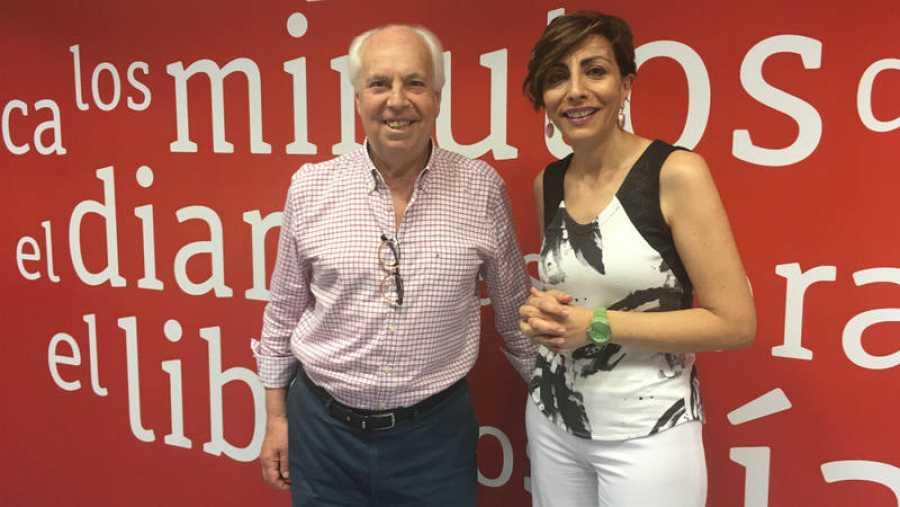 Mamen Asencio y Eduardo Mendicutti