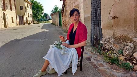 Actriz Ana Alvarez en Torremocha