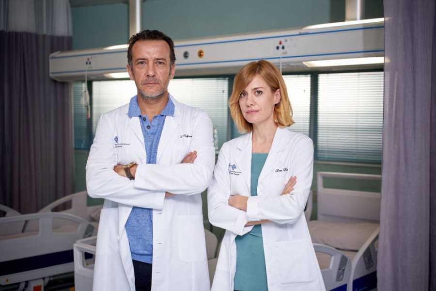 Alexandra Jiménez y José Luis Gómez juntos en 'Hospital Valle Norte'