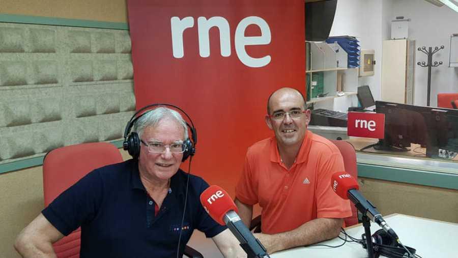 Isidoro Gorriño (izquierda) y Pablo Alonso (derecha) visitan Rne Santander