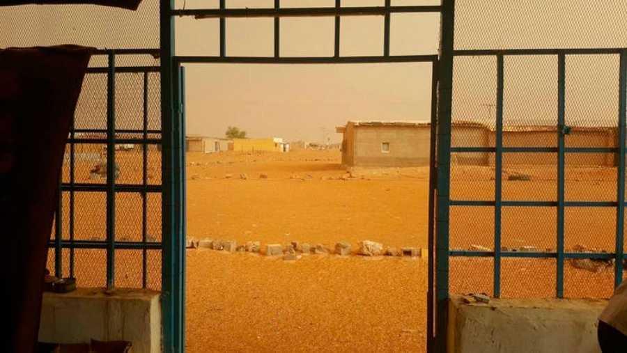 Campamentos de refugiados saharauis en Tinduf